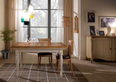 tavolo allungabile a serrandina bassan art 1
