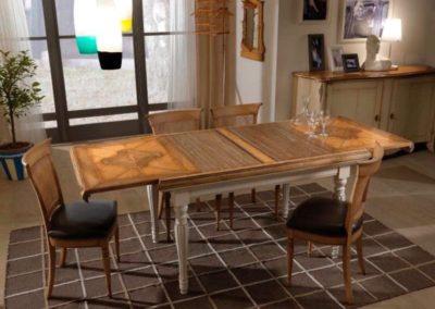 tavolo allungabile a serrandina bassan art 2