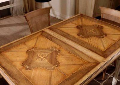 tavolo allungabile a serrandina bassan art 3