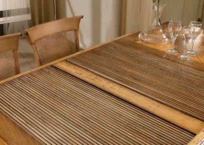tavolo allungabile a serrandina bassan art 4